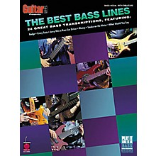 Cherry Lane The Best Bass Lines Tab Songbook