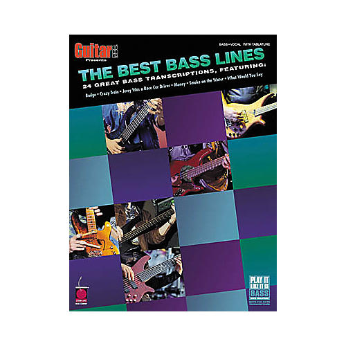 Cherry Lane The Best Bass Lines Tab Songbook-thumbnail