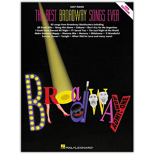 Hal Leonard The Best Broadway Songs Ever - Third Edition For Easy Piano-thumbnail