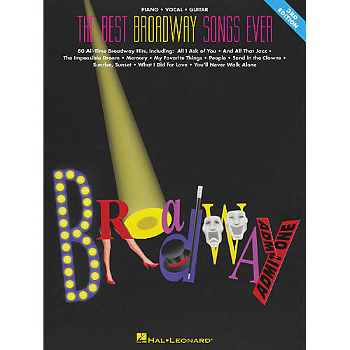 Hal Leonard The Best Broadway Songs Ever Updated Piano, Vocal, Guitar Songbook-thumbnail