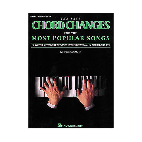Hal Leonard The Best Chord Changes for the Most Popular Songs (Fake Book)-thumbnail