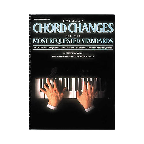 Hal Leonard The Best Chord Changes for the Most Requested Standards Piano/Vocal/Guitar Songbook-thumbnail
