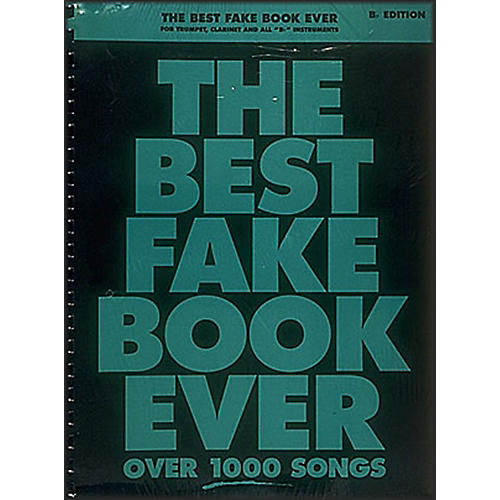 Hal Leonard The Best Fake Book Ever - Bb Edition-thumbnail