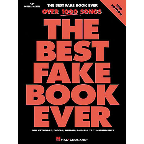Hal Leonard The Best Fake Book Ever 4th Edition-thumbnail