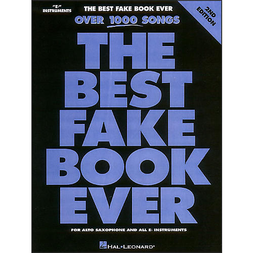 Hal Leonard The Best Fake Book Ever Eb Edition-thumbnail