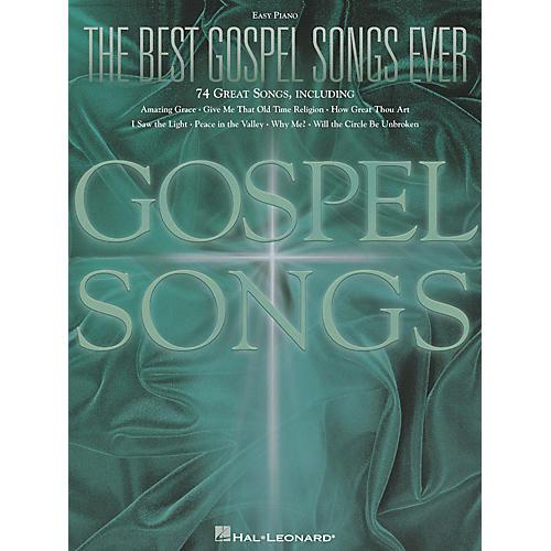 Hal Leonard The Best Gospel Songs Ever For Easy Piano-thumbnail
