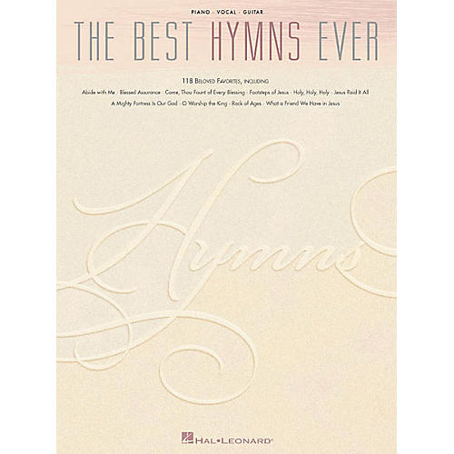 Hal Leonard The Best Hymns Ever Piano/Vocal/Guitar Songbook-thumbnail