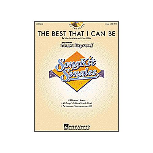Hal Leonard The Best I Can Be (SongKit Single)-thumbnail