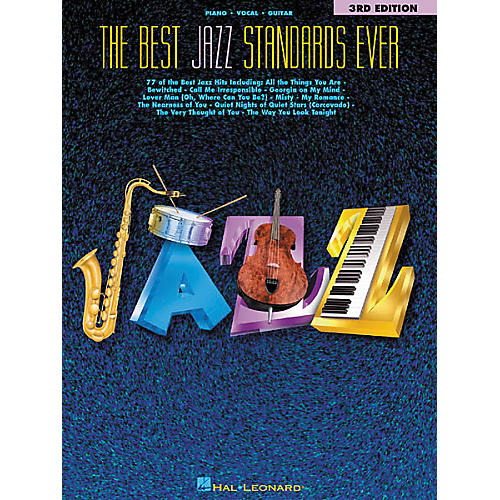 Hal Leonard The Best Jazz Standards Ever 3rd Edition Songbook