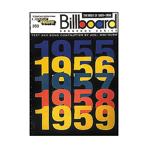 Hal Leonard The Best Of 1955-1959 Billboard Songbook Series E-Z Play 350