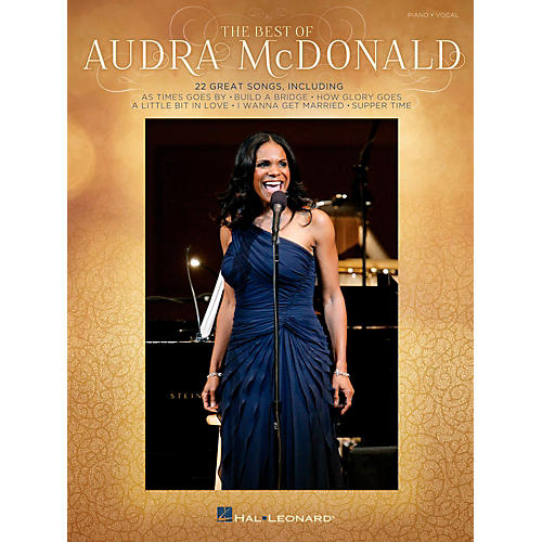 Hal Leonard The Best Of Audra Mcdonald for Piano/Vocal/Guitar PVG-thumbnail