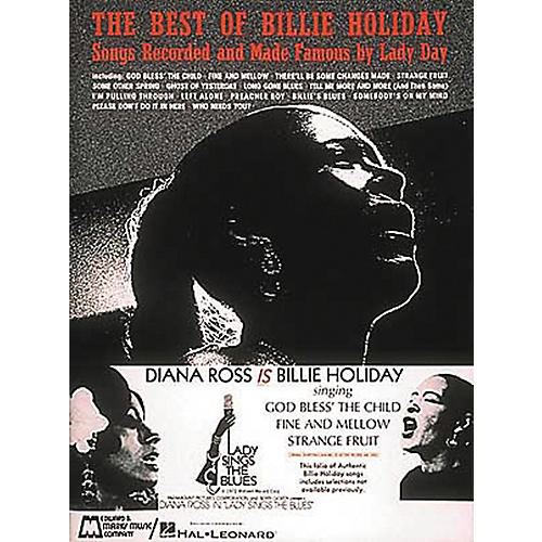Hal Leonard The Best Of Billie Holiday Piano, Vocal, Guitar Songbook-thumbnail