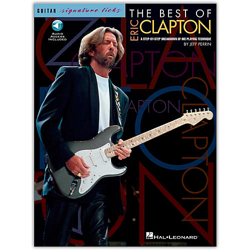 Hal Leonard The Best Of Eric Clapton - Signature Licks Guitar Tab Songbook with CD