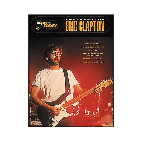 Hal Leonard The Best Of Eric Clapton E-Z Play 60
