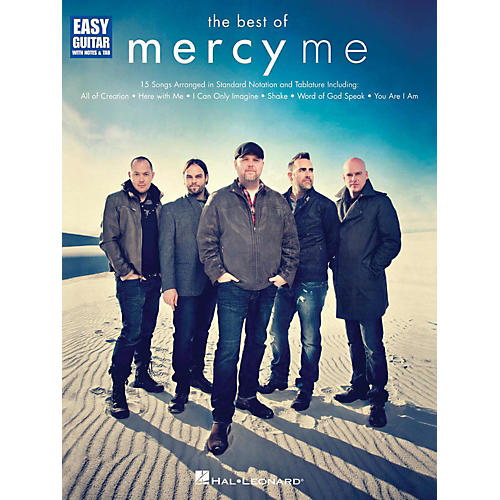 Hal Leonard The Best Of MercyMe Easy Guitar With Tab