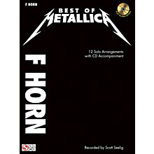 Cherry Lane The Best Of Metallica for French Horn Book/CD