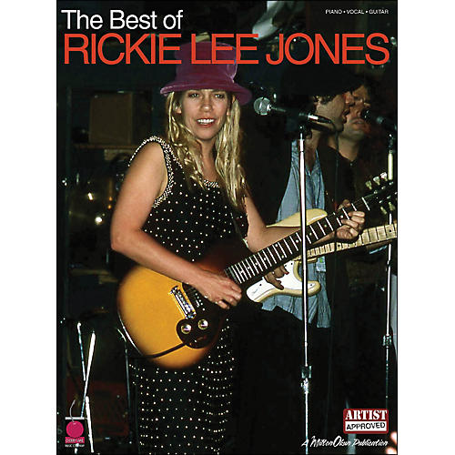 Cherry Lane The Best Of Rickie Lee Jones arranged for piano, vocal, and guitar (P/V/G)-thumbnail