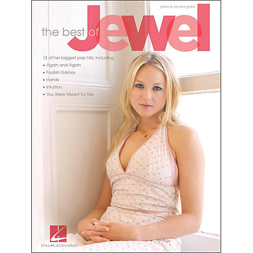 Hal Leonard The Best OfJewel arranged for piano, vocal, and guitar (P/V/G)-thumbnail