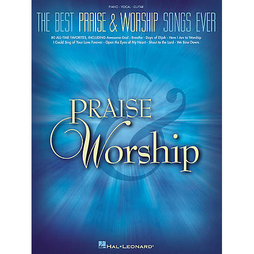 Hal Leonard The Best Praise & Worship Songs EverPiano, Vocal, Guitar Songbook-thumbnail