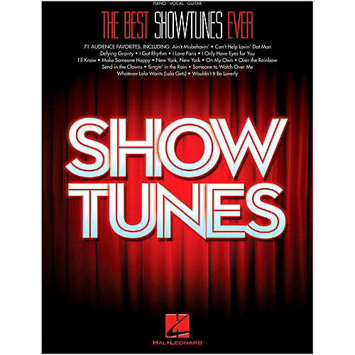 Hal Leonard The Best Showtunes Ever for Piano/Vocal/Guitar-thumbnail