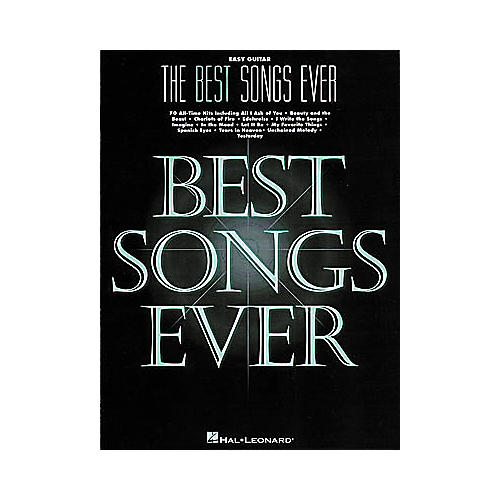 Hal Leonard The Best Songs Ever - 5th Edition Book-thumbnail