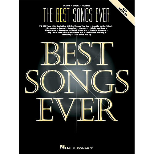 Hal Leonard The Best Songs Ever - 8th Edition Piano, Vocal, Guitar Songbook-thumbnail
