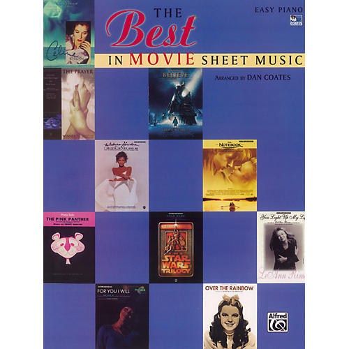 Alfred The Best in Movie Sheet Music Easy Piano-thumbnail
