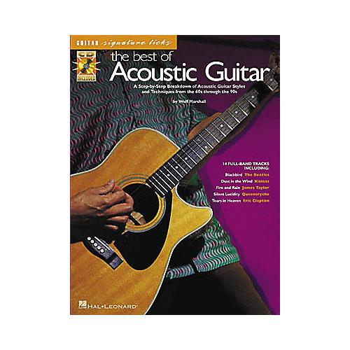 Hal Leonard The Best of Acoustic Guitar (Book/CD)-thumbnail