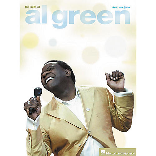 Hal Leonard The Best of Al Green Piano/Vocal/Guitar Artist Songbook