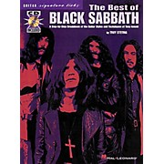Hal Leonard The Best of Black Sabbath Signature Licks for Guitar Book with CD