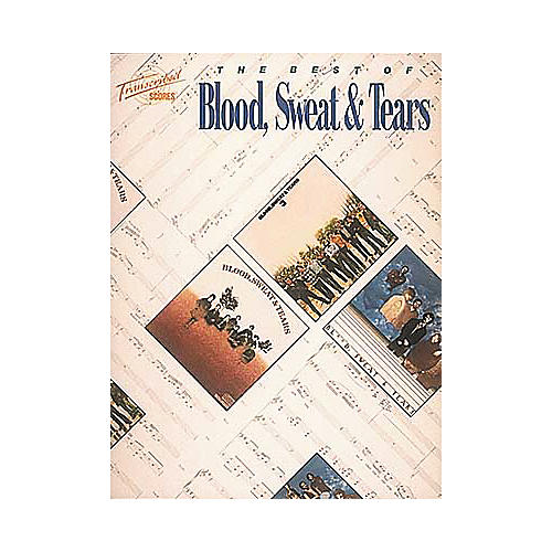 Hal Leonard The Best of Blood, Sweat and Tears Transcribed Scores Book