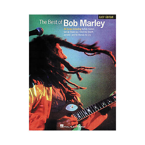 Hal Leonard The Best of Bob Marley Easy Guitar Tab Book-thumbnail