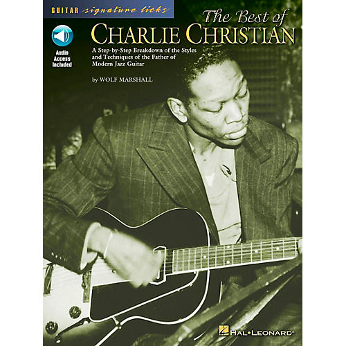 Hal Leonard The Best of Charlie Christian (Book/CD)-thumbnail
