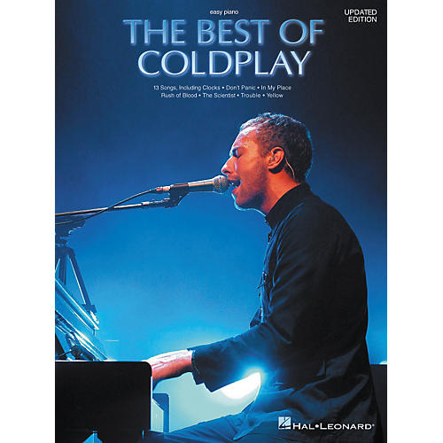 Hal Leonard The Best of Coldplay for Easy Piano (Book)