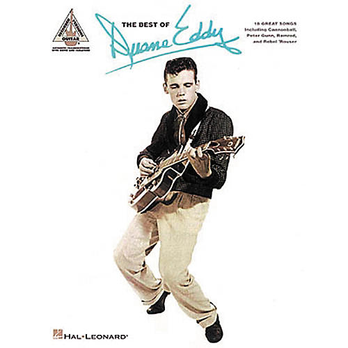 Hal Leonard The Best of Duane Eddy Guitar Tab Songbook-thumbnail