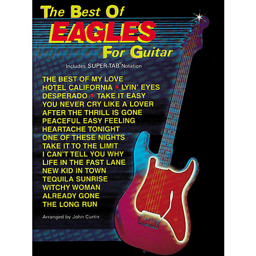 Hal Leonard The Best of Eagles Guitar Tab Book-thumbnail