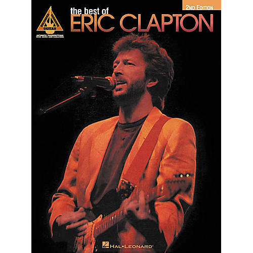 Hal Leonard The Best of Eric Clapton 2nd Edition Guitar Tab Songbook-thumbnail