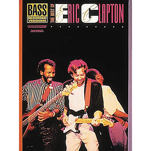Hal Leonard The Best of Eric Clapton Bass Guitar Tab Songbook