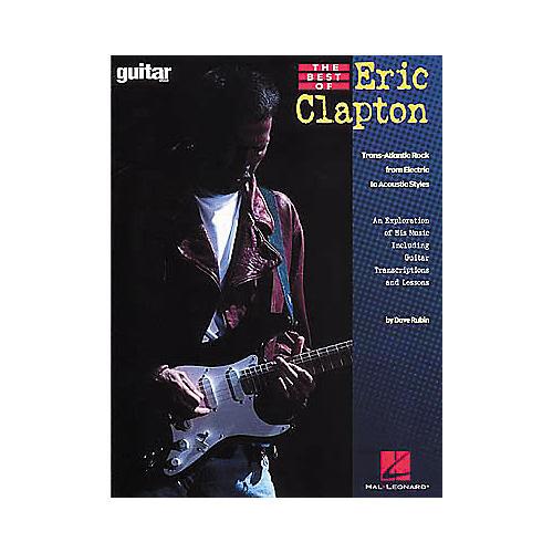 Hal Leonard The Best of Eric Clapton Book