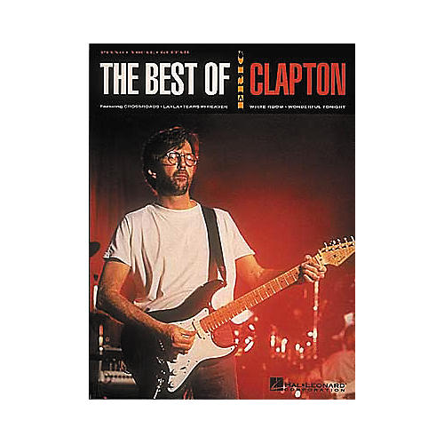 Hal Leonard The Best of Eric Clapton Piano, Vocal, Guitar Songbook-thumbnail