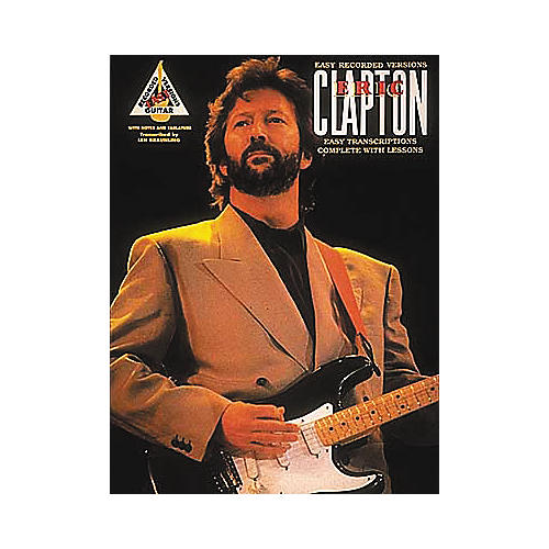 Hal Leonard The Best of Eric Clapton Transcribed Scores Book