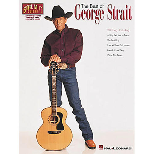 Hal Leonard The Best of George Strait Guitar Chord Songbook-thumbnail