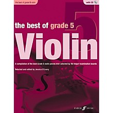 Faber Music LTD The Best of Grade 5 Violin Book & CD