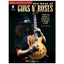 Hal Leonard The Best of Guns N' Roses Guitar Signature Licks (Book/Online Audio)