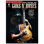 Hal Leonard The Best of Guns N' Roses Guitar Signature Licks Book with CD