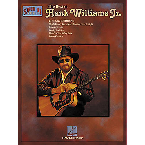 Hal Leonard The Best of Hank Williams Jr. Guitar Tab Songbook