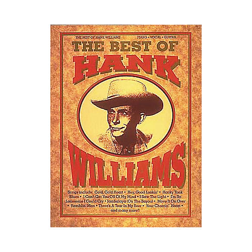 Hal Leonard The Best of Hank Williams-thumbnail