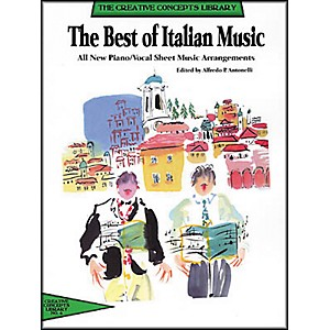 Creative Concepts The Best of Italian Music Songbook