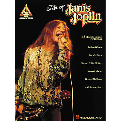 Hal Leonard The Best of Janis Joplin Guitar Tab Songbook-thumbnail