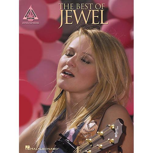 Hal Leonard The Best of Jewel Guitar Tab Book